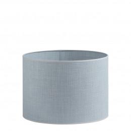 Abat-jour cylindrique bleu clair - Diam. 35 cm