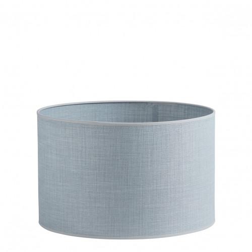 Abat-jour cylindrique bleu clair - Diam. 40 cm