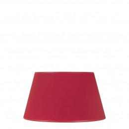 Abat-jour conique rouge - Diam. 35 cm