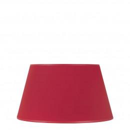 Abat-jour conique rouge - Diam. 40 cm