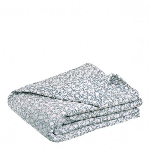 Dessus de lit FIORELLA gris
