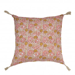 Coussin JUNGLE rose