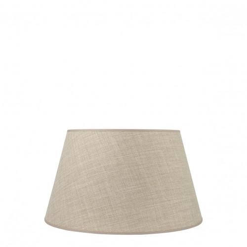 Abat-jour conique beige - Diam. 35 cm