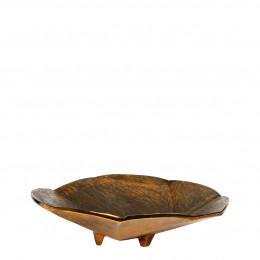 Plateau BRUNELLA laiton antique