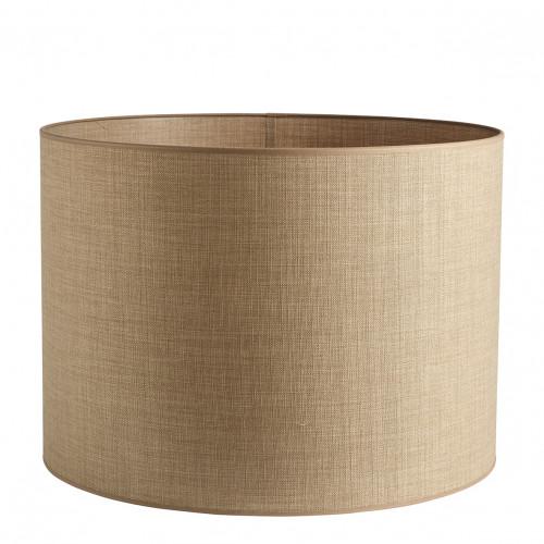 Abat-jour cylindrique beige - Diam. 55 cm