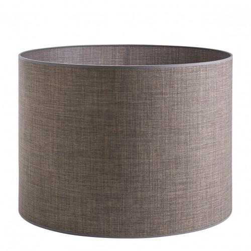 Abat-jour cylindrique taupe - Diam. 55 cm