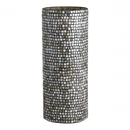 Vase ADRIANNE gris - Grand modèle