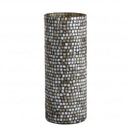 Vase ADRIANNE gris - Petit modèle