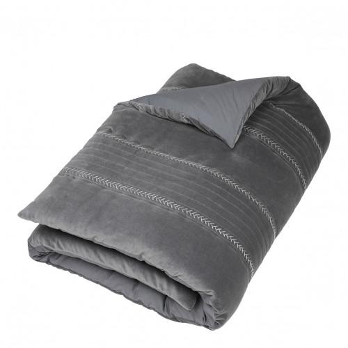Futon CLAIRE gris
